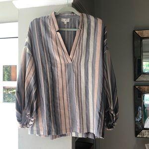 Lou & Grey tunic blouse size medium